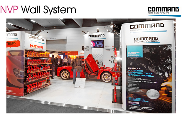 Exhibition stands - Command