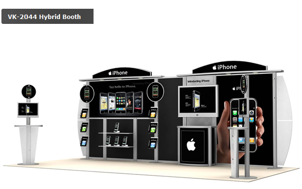 Exhibition stands - iPhone