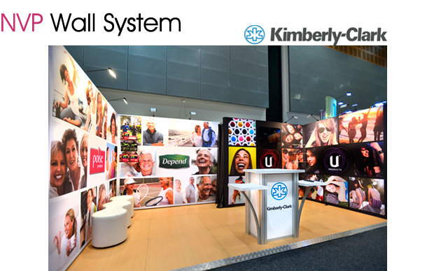 Exhibition stands - Kimberly-Clark