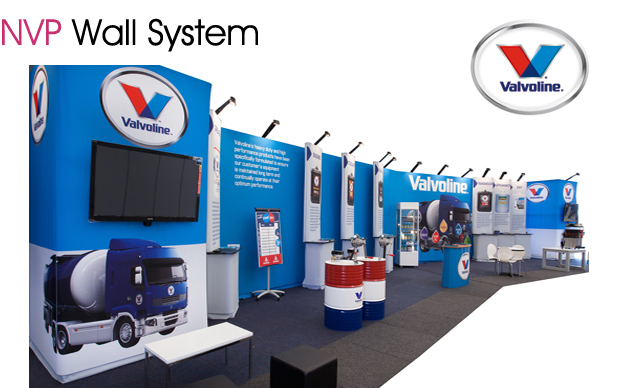 Exhibition stands - Valvoline