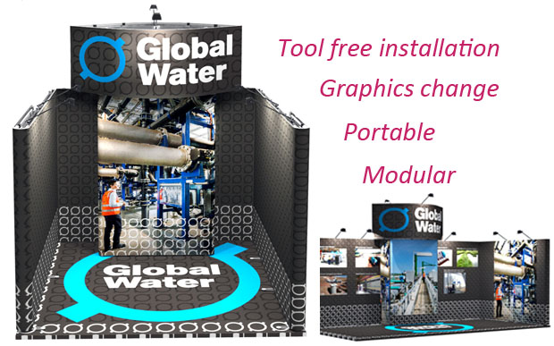 Global Water_portable_modular stands