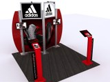 Exhibition stands - adidas