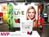Exhibition stands - live