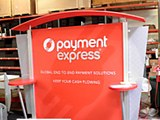 Exhibition stands - Payment Express