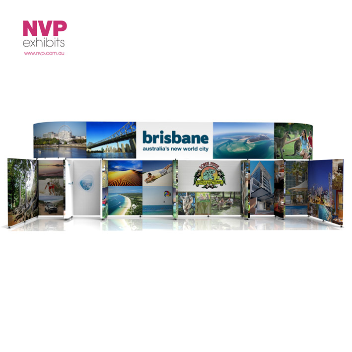 Exhibition Displays Brisbane : — exhibit exhibition design hire nvp