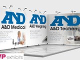 Exhibition stands - A&D Medical