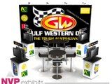 Exhibition stands - Gulf Western Oil