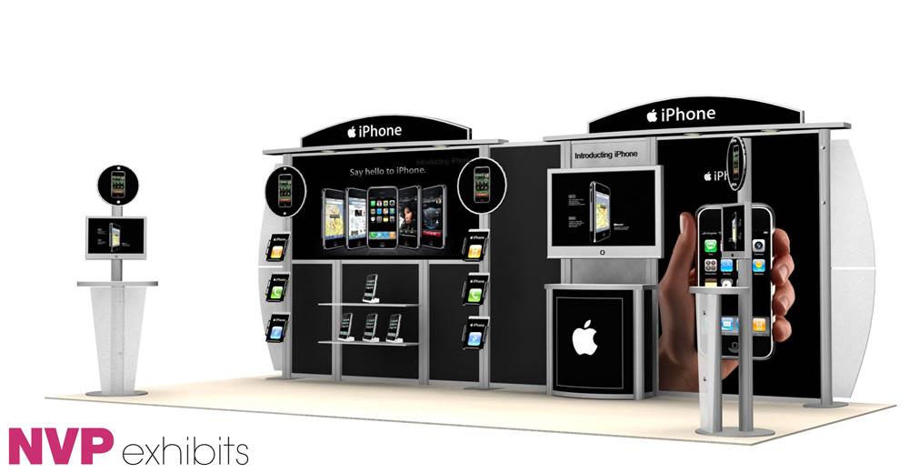 Exhibition Stand Etiquette : Exhibition stands iphone — exhibit design