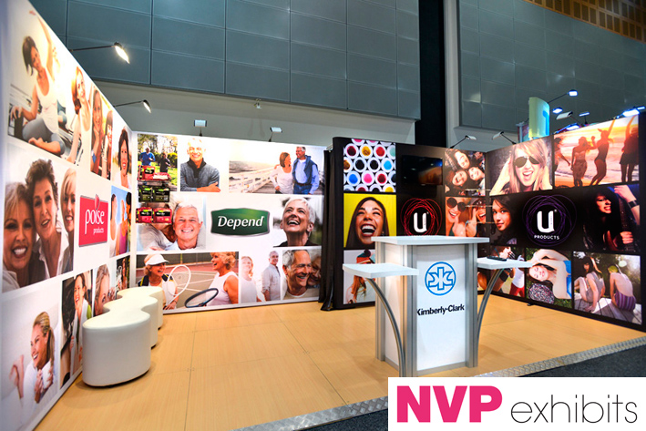 Exhibition Stand Etiquette : Exhibition stands kimberly clark — exhibit
