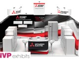 Exhibition stands - Mitsubishi Electric