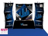 3 x 3 Pop up display stand