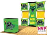 3 x 3 Pop up display stands