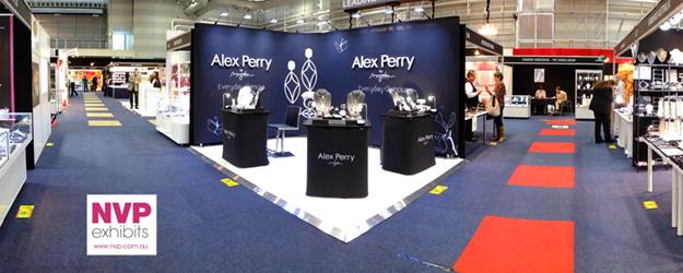 Custom stands_Alex Perry