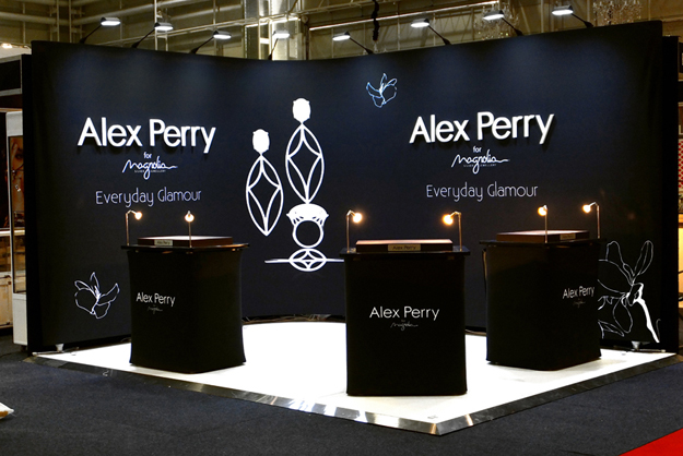 Jewelry Exhibition Stand Design : Alex perry jaa international jewellery fair u2014 exhibit exhibition