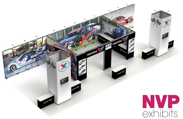 trade show displays - Valvoline