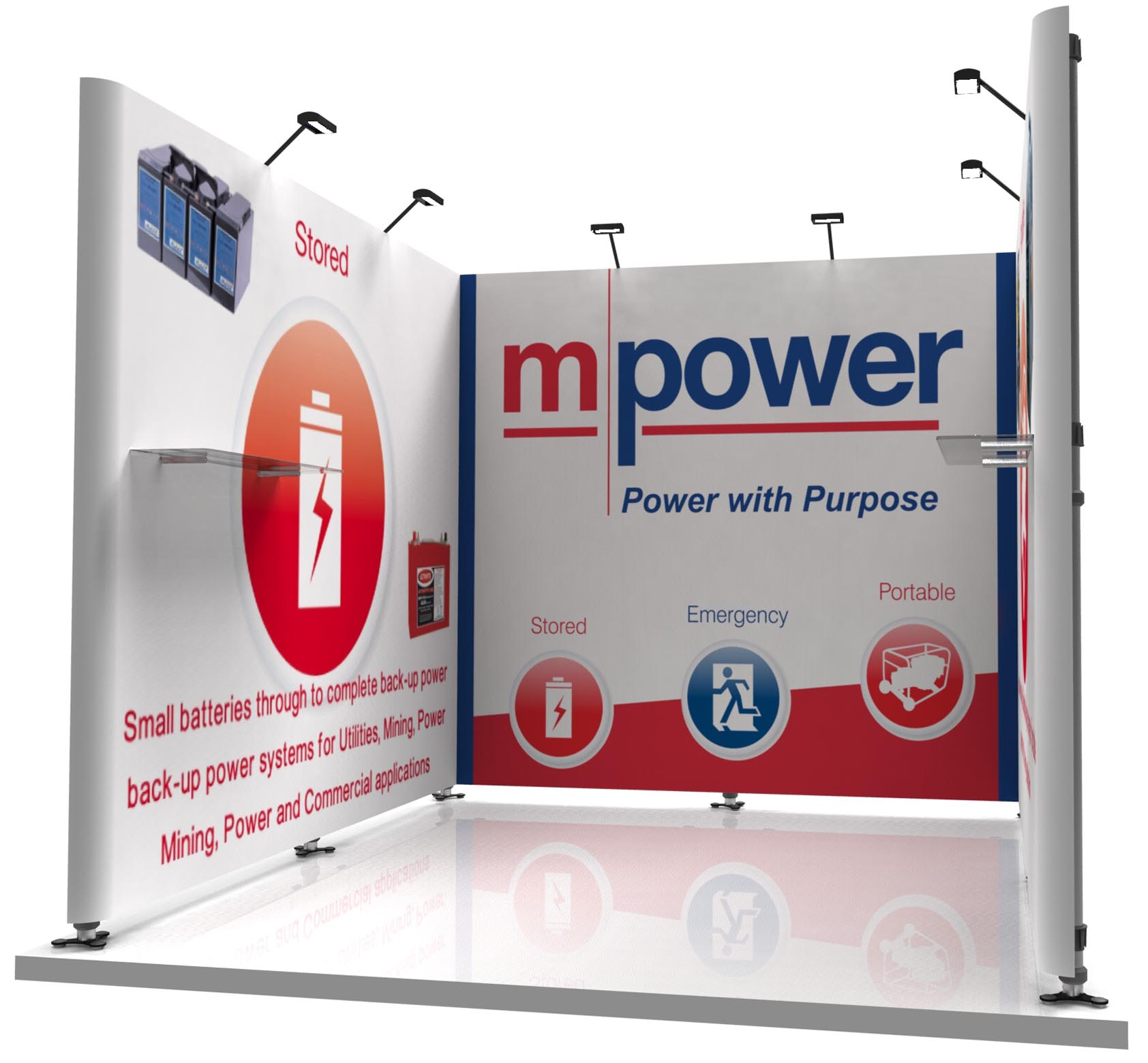 Exhibition Booth Banners : Nvp — exhibit exhibition design hire