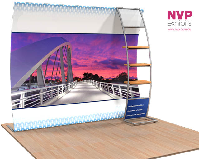NVP Exhibit 10 - Fabric Display Stand