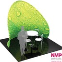 NVP Exhibit 25 - Portable meeting and conference room for trade shows and retail.