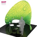 Portable meeting and conference rooms for trade shows, exhibitions and conferences.
