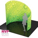 NVP Exhibit 25 - Portable stands designed as meeting and conference rooms for trade shows and shopping centers.