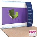 NVP Exhibit 5 - Portable display stand with TV and counter integration