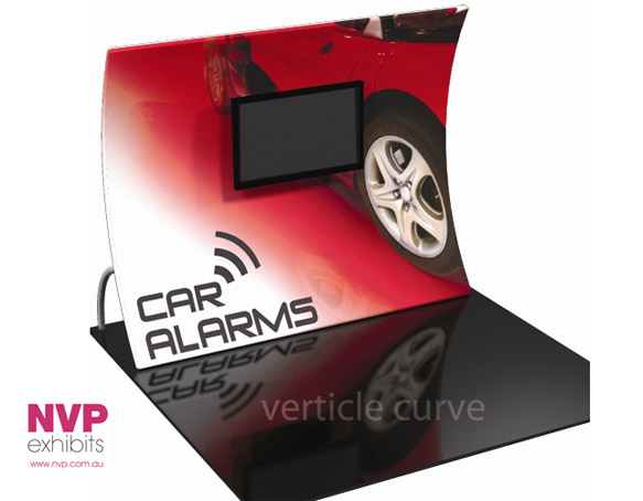 Fabric Exhibition Stand Goals : Nvp exhibit 6 fabric display stand