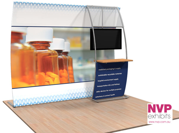 NVP Exhibit 7 - Fabric Display Stand