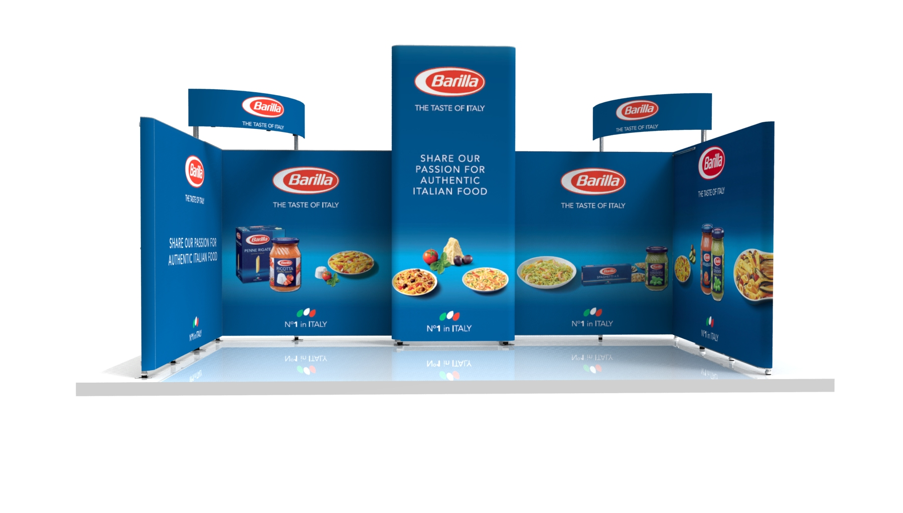 Nvp 005 exhibit exhibition design exhibit hire nvp for Kitchen design 6m x 3m