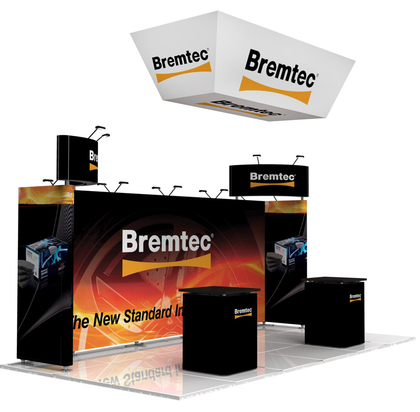 Exhibition Stand Builders Brisbane : Trade show displays popup booths banners tabletop