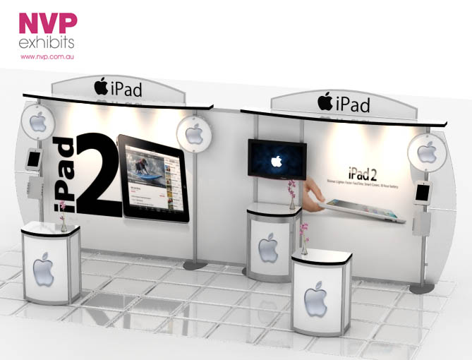 Custom Exhibition Stand Price : Nvp custom stand