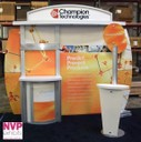 Custom Exhibition Stand by NVP Exhibits