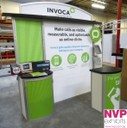 Custom Exhibition Stand easy to trasnport by NVP Exhibits