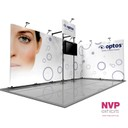 Portable and adaptable exhibition stand.