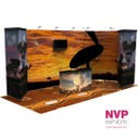 Portable custom stands by NVP Exhibits Australia