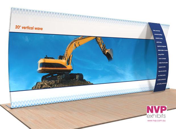 NVP Exhibit 18 - Fabric Display Stand