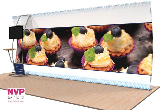 NVP Exhibit 19 - Fabric Display Stand