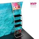 Exhibition stands with products displays by NVP Exhibits