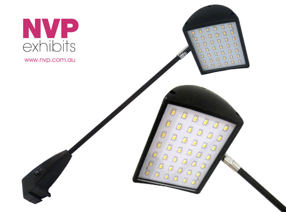 20W UltraBright LED lights for exhibitions and trade shows