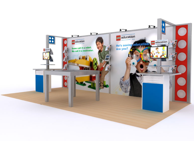 Custom Exhibition Stands DM-1039