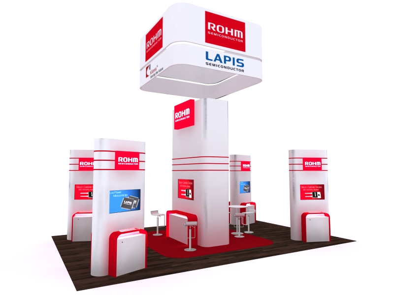 Custom Exhibition Stands DM-1041