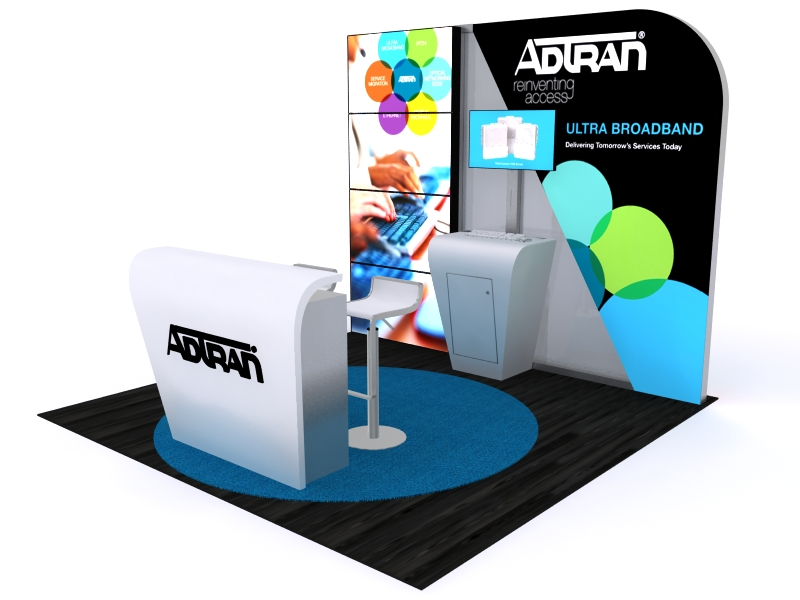 Custom Exhibition Stands DM-1047