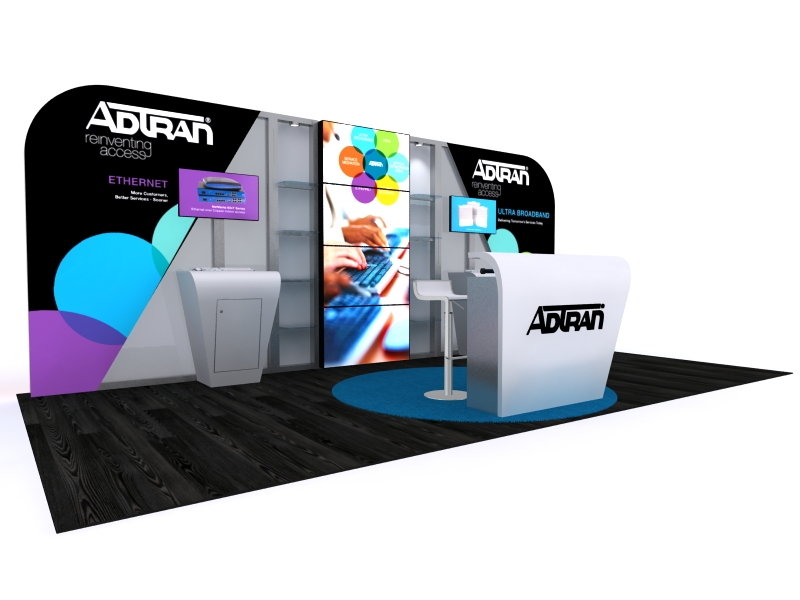 Custom Exhibition Stands DM-1048