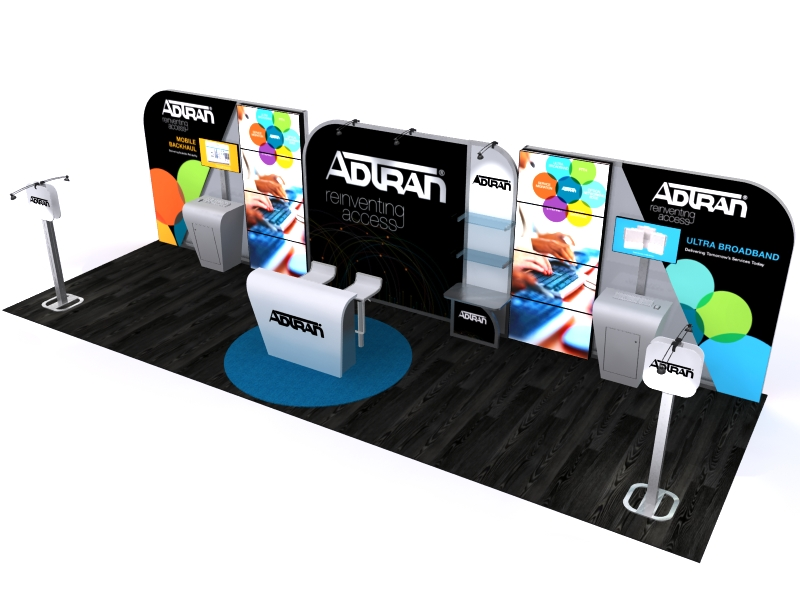 Custom Exhibition Stands DM-1049