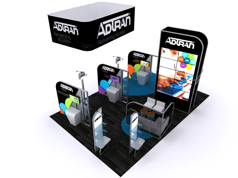 Custom Exhibition Stands DM-1051