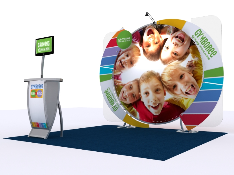 Custom Exhibition Stands DM-1053