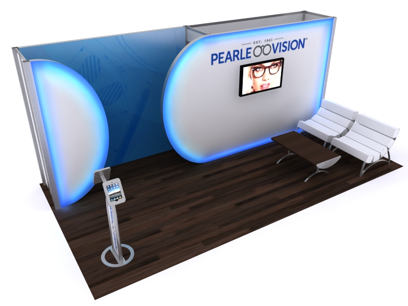 Custom Exhibition Stands DM-1104