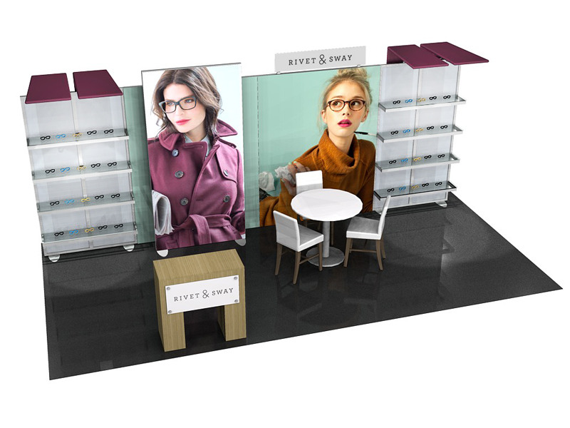 Custom Exhibition Stands ECO-2055