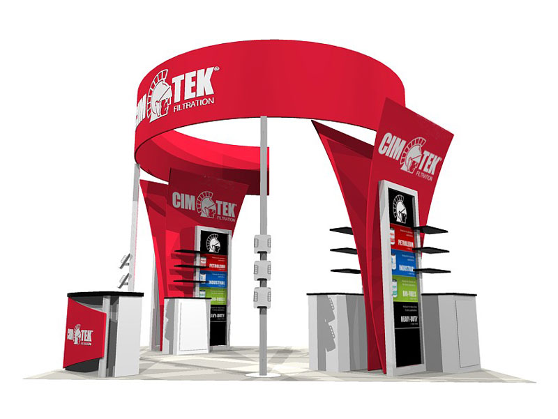 Custom Exhibition Stands ECO-4021