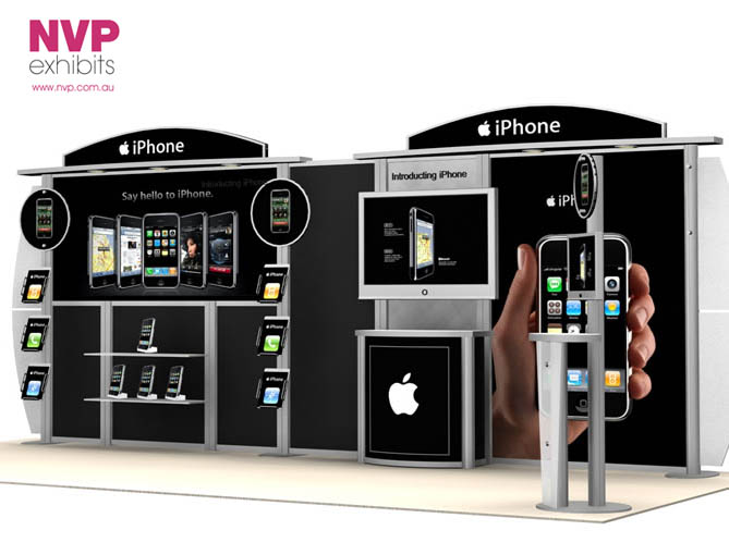 Custom Exhibition Stands NVP-017
