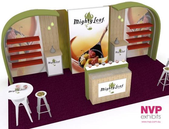 Custom Exhibition Stands NVP-019